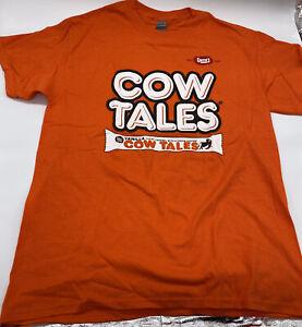 Cow Tales T-Shirt XL - Gildan - Not Been Worn - 100% Cotton