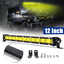 13inch 36W LED Work Light Bar Slim Spot Suv Boat Driving Lamp 4WD Offroad Yellow