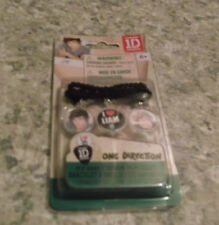 1D - ONE DIRECTION Collectible Charm bracelet with Liam by Global - NIP