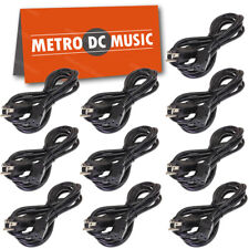 10-Pack 10ft AC Power Cord Outdoor SJTW fits Marshall & Fender Guitar Amplifiers