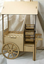 M144 CANDY CART/WHEELV3 donut doughnut wall stand sweet holder wedding party v3