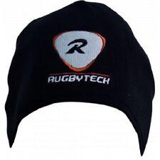 Rugbytech Fleece Beanie Running Training Hat - Black - One Size *NEW*