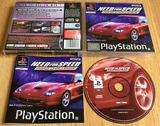 NEED FOR SPEED ROAD CHALLENGE for SONY PLAYSTATION 1 PS1, PS2 & PS3 COMPLETE