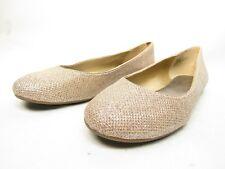 Worthington Fifi Metallic Ballet Flats Silver Size 6M