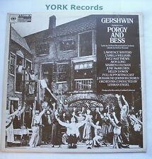 PORGY & BESS - Cast Recording GEORGE GERSHWIN - Ex Con LP Record CBS 61622