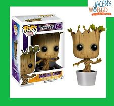 Dancing Groot #65 Pop Funko Figure USA Guardians Of The Galaxy Toy Baby Groot