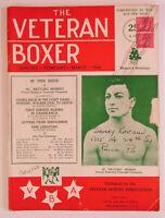 RARE 1945 Veteran Boxer EDITOR COPY Al Murray Jan Magazine Boxing Association