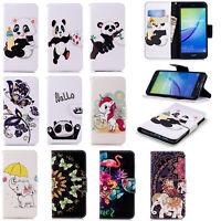 For Xiaomi Redmi 5 Plus 4X 5 5A Y1 Lite Slim PU Leather Flip Wallet Case Cover