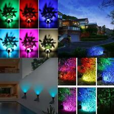7 LED Solar Lawn Lamp Waterproof Light Control Inserting Floor Garden Yard Light