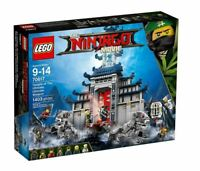 NEW Genuine Sealed - Lego Ninjago Temple Of The Ultimate Weapon 70617 - 1403 pcs