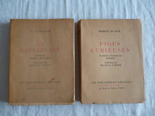 bibliophiles libertins/marquis de sade/pages curieuses/capucinade/nougaret/ex n