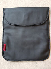 Sony Black Faux Leather Tablet Reader Storage Case Bag Pocket Pouch Cover