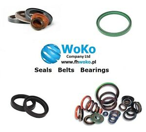 Oil seal with springs - Any size NBR Simmer 14x20x3 - 15x47x10 choose your size