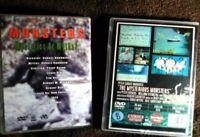 Bigfoot Sasquatch dvds Finding Monsters Yeti Loch Ness Monster Vintage Rare dvd