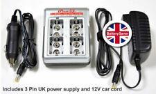 iPowerUS 9V PP3 Battery Charger - FC-9V4LN (UK Version)