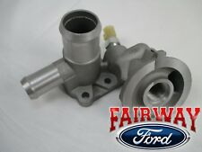 F  Oem Ford Oil Cooler Filter Adapter Housing With Sensor