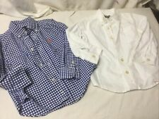 Toddler Boys Button Front Shirts Ralph Lauren Polo And Oshgosh Siize 3T