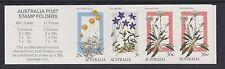 AUSTRALIA 1986 Alpine Flowers Booklet $1 SB 56 MNH