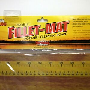 Fillet Mat~Northland Tackle~NWT~Portable Fish Cleaning Board~Ruler~Folding~