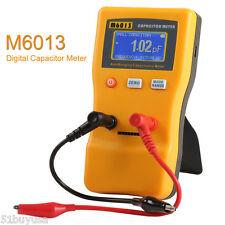 LCD Digital Capacitor Capacitance Tester Meter Auto Range 0.01pF to 470000uF New