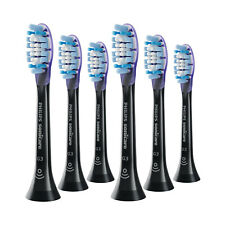6x Philips Sonicare DiamondClean G3 Gum Care Brush Heads | Black | w/o Box