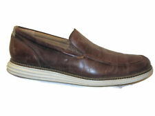 Cole Haan Original Grand.OS Venetian Loafer Men Sz 11 M Brown Distressed Leather