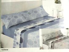 juego sabanas  baratas bajera para colchon alto especial color azul gris mandala