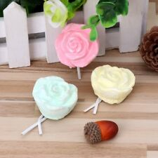 Rabbit Pet Hamster Chinchilla Bird Teeth Grinding Stone Rose Shape Chew Toy