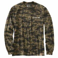 Carhartt camuflaje Workwear grapihc L/s t-shirt Black ciego Duck camo