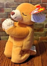 TY BEANIE BABY ORIGINAL HOPE PRAYING BEAR WITH MULTIPLE TAG ERRORS Teddy Bear