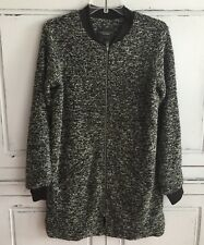 Sanctuary Clothing Los Angeles Long Zippered Sweater Coat Tunic M Anthropologie