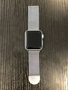 Apple Watch Series 2 38mm Aluminum Case Magnetic Silver band - (MNNX2LL/A)