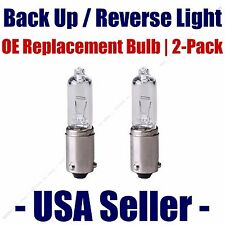 Reverse/Back Up Light Bulb 2pk - Fits Listed Audi Vehicles - H6W