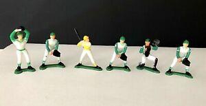 Vintage 1981 Wilton Cake Tops Baseball Payers ~ Complete Figure Set