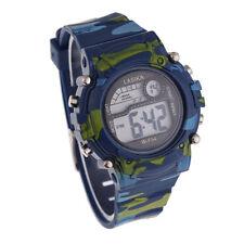 Childrens Boys Camouflage Swimming Sports Digital Wrist Watch Watches