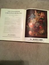 1953 CORONATION BOOK THE CONNOISSEUR Queen Elizabeth II Royal Family England