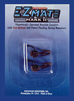 NEW Bachmann E-Z Mate Mark II Magnetic Knuckle Couplers Short (2) HO Scale BA...