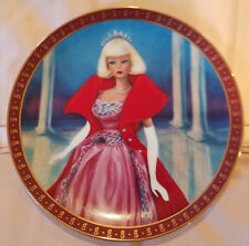 The 1963 Barbie Sophisticated Lady Limited Edition Plate The Danbury Mint 1990