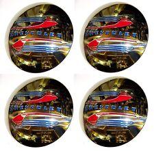 1941 1942 1943 1944 1945 1946 Hub Caps (4) Stainless Steel Chevrolet Chevy Truck