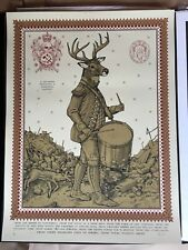 Ravi Zupa From the Overflowing Drummer Signed and numbered /50 Print