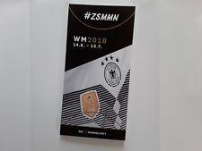 Media Guide TEAM DEUTSCHLAND GERMANY DFB / FIFA WORLD CUP 2018 FUSSBALL-WM BVB