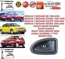 Renault Megane I Door Handle Interior Black Front//Rear Right VR Hr
