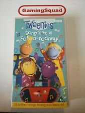 Tweenies, Song Time is Fab-a-Rooney VHS Video Retro, Supplied by Gaming Squad
