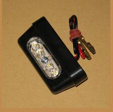 Mini LED Kennzeichenbeleuchtung E-geprüft 56 mm breit Motorrad