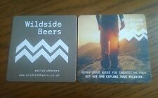 Wildside Beer RARE x2 Beer mat Coasters