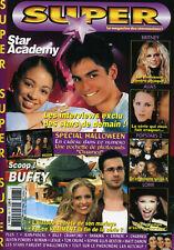 Magazine SUPER n°167,  BUFFY, CHARMED, ALIAS, SHAKIRA, EMINEM, LORIE, L5, LESLIE