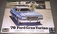 Revell 1976 Ford Gran Torino 1:25 scale model car kit new 4412