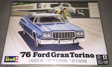 Revell 1976 Ford Gran Torino 1/25 scale model car kit new 4412