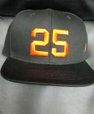 San Francisco Giants Barry Bonds # 25 Retirement Ceremony Hat BRAND NEW