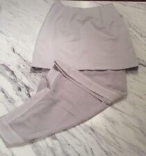 Keepsake Australian Brand Silver Mini Skirt With Long Translucent Size Small NWT